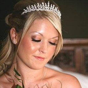 Contact Bling Bridal and Beauty for your wedding hair and make up