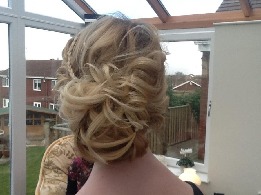 Bridal hair, beauty and make up west yorkshire